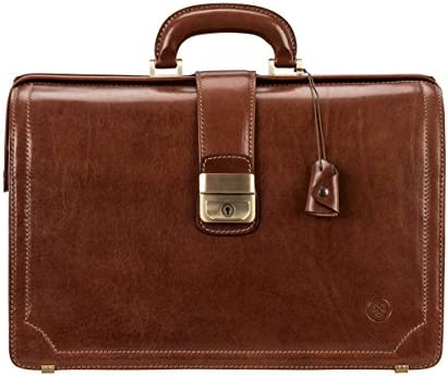 Maxwell Scott Men s Real Leather Executive Briefcase – Basilio Tan