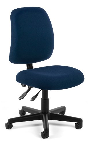 Height Adjustable Swivel Task Chair - 6
