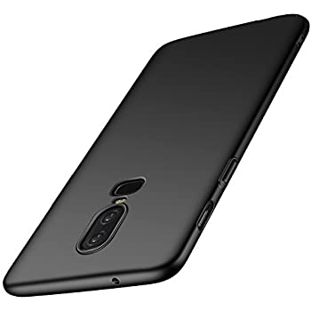 Amazon.com: EasyAcc Slim Case for OnePlus 6, Matte Black TPU ...