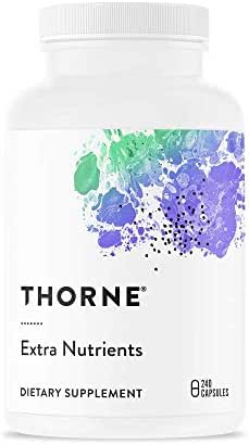 Thorne Research - Extra Nutrients - Multi-Vitamin-Mineral Supplement for Extra Antioxidant Support - 240 Capsules