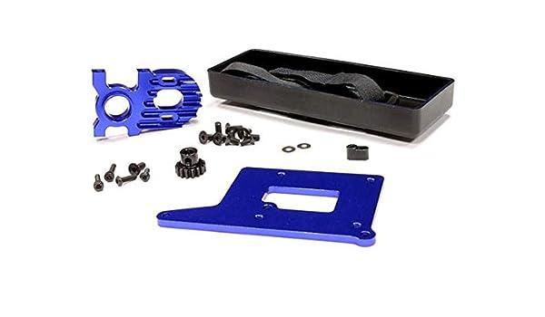 Integy RC Model Hop-ups C24038PURPLE Brushless Conversion Kit for HPI Savage w//Pinion Gear