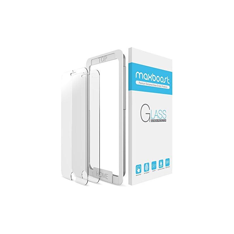 iPhone 8 7 Screen Protector, Maxboost (2