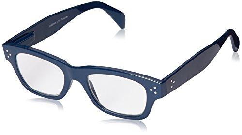 (Peepers Women's Dauntless 2305200 Rectangular Reading Glasses, Navy, 2)