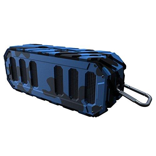 TUNES2GO Rugged Rocker Waterproof Bluetooth Speaker