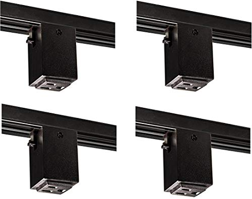 (Nora Lighting NT-327B Outlet Adapter Track Accessory (4)
