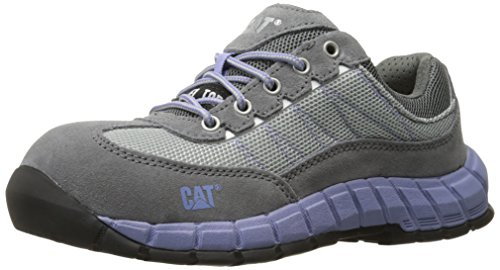 Caterpillar Women's Exact Steel Toe / Grey Work Shoe - Gr...