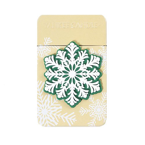 Yankee Candle Snowflake (Christmas Cookie) Travel Tin, Festive (Snowflake Candle Tin)