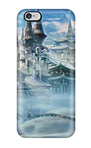 Defender Case For Iphone 6 Plus, Castle In The Snow Pattern