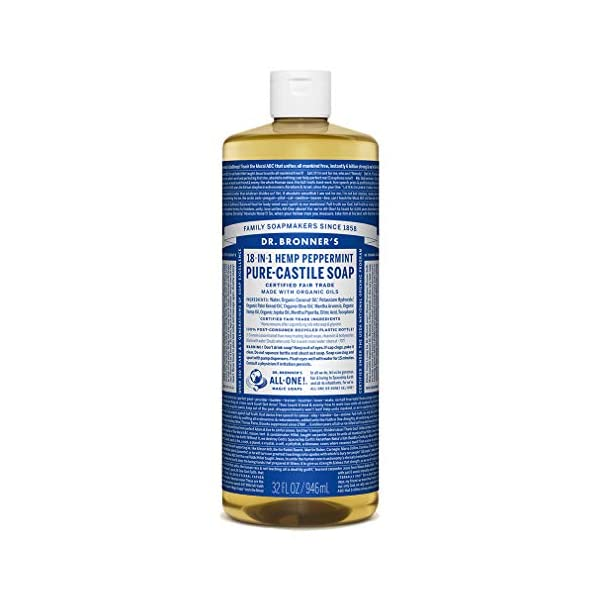 Dr. Bronner's Magic Soaps Pure-Castile Soap, 946ml
