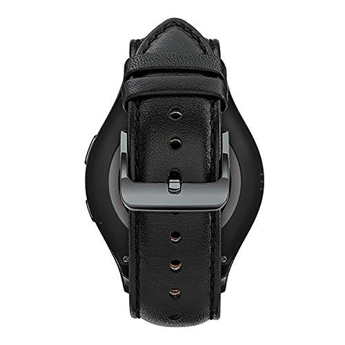 Samsung Gear S2 Classic Smartwatch - Black - SM-R7320ZKAXAR (Renewed)