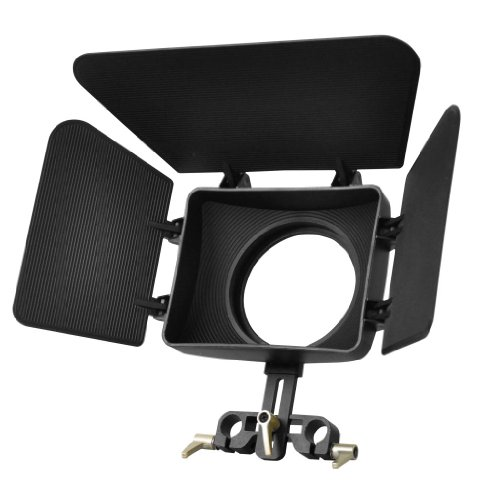 Polaroid PL-STA96MB Matte Box For 15MM Rod Stabilzer Systems