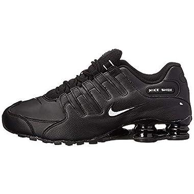 new arrivals f3598 29c78 Nike Shox NZ EU Men s Running Shoes Black White-Black 501524-091 (