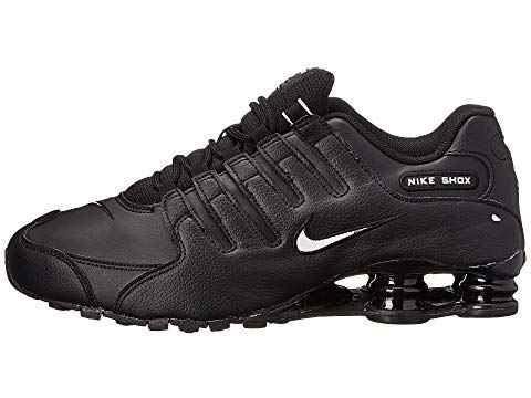 Nike Shox NZ EU Men's Running Shoes Black/White-Black 501524-091 (9 D(M) US)