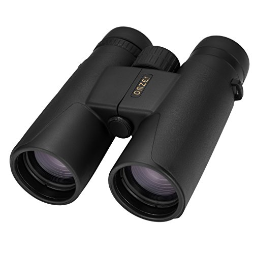 OMZER 10x42 High-powered Compact Binoculars With BAK4 Prism FMC Lens, Waterproof, Fogproof And Shockproof Binocular With Carrying Bag For Adults Bird Watching, Hiking, Hunting, Camping, Concert
