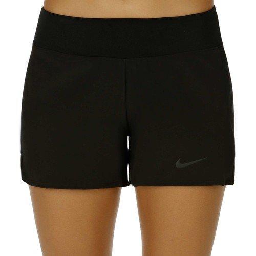 New Nike Women's Baseline Shorts Black/Black X-Large