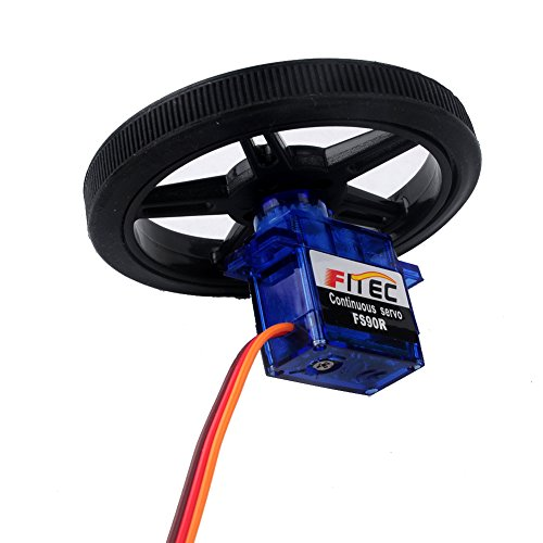 Feetech FS90R Micro Servo, 360 Degree Continuous Rotation Mini RC