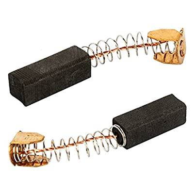 uxcell Uxcell carbon brush 20mm x 7mm x 7mm Carbon Brushes Brush Repairing Part for Generic Electric Motor, 2-Pack