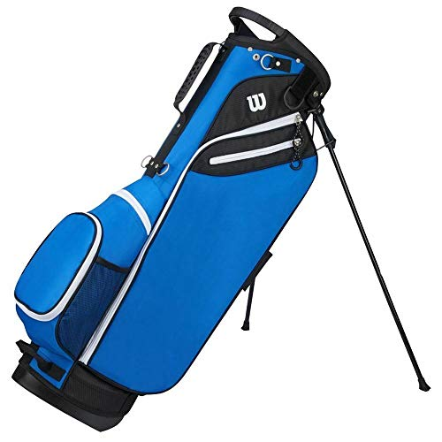 "Wilson ""W"" Carry Golf Bag, Blue"