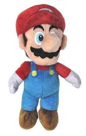 Super Mario - Mario de peluche de 24 cm