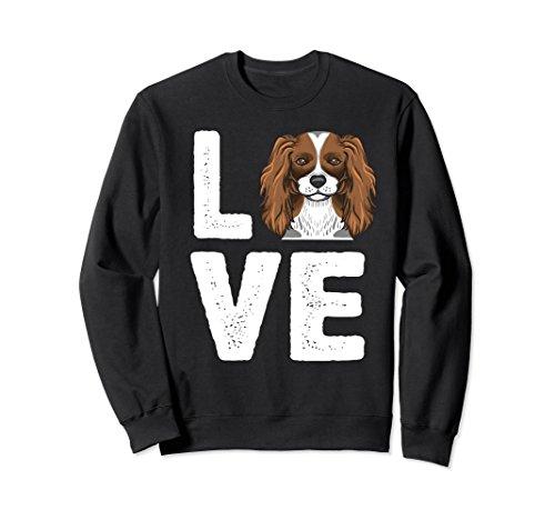 Cavalier Black Sweatshirt (Unisex I Love My King Charles Cavalier Sweatshirt Medium Black)