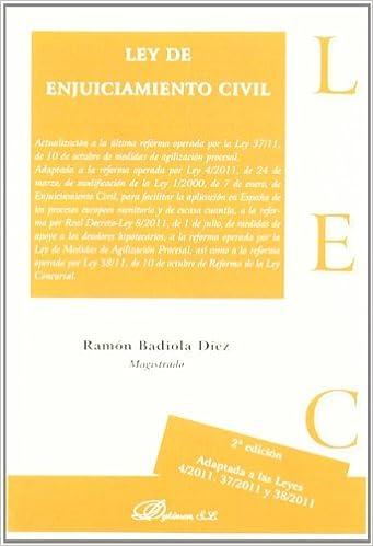 Ley de Enjuiciamiento Civil 2011 / Civil Procedure Act: