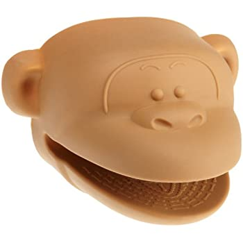 Cooks CornerSilicone Pot Holder, Brown Monkey