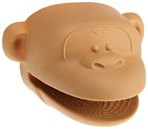 Cooks CornerSilicone Pot Holder, Brown Monkey