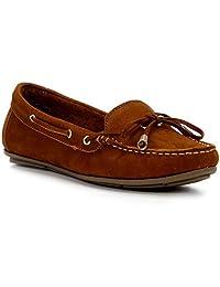 Mocassim Shoestock Couro Laço