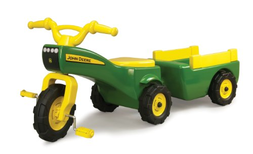 John Deere Pedal Tractor And Wagon (Kids John Deere Wagon)
