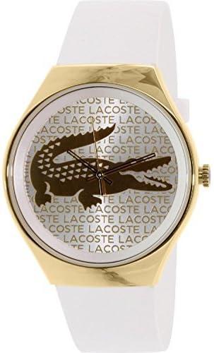 [ラコステ]Lacoste 腕時計 Valencia Silicone White watch 2000807 レディース [並行輸入品]