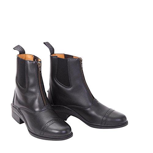 Rendimiento de Oxford Paddock Botas Calzado para el caballo estable Yard [Negro] [41/7]