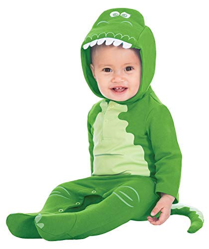Baby Boys Girls Official Toy Story Disney Rex Green Dinosaur Film World Book Day Halloween Animal Fancy Dress Costume Outfit 0-12 Months (3-6 Months) -