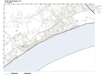 Amazon zip code wall map of north myrtle beach sc zip code map zip code wall map of north myrtle beach sc zip code map laminated sciox Choice Image