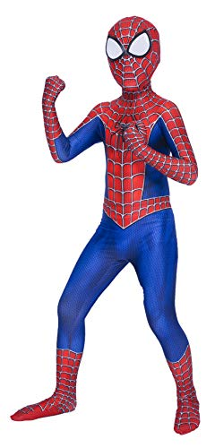 ugoccam Superhero Toddler Kids Bodysuit Halloween Zentai Suit Cosplay Kids-X-Small]()