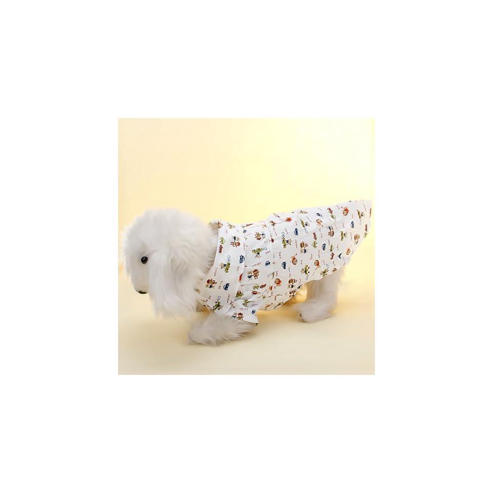 Pet Dog Clothes Puppy Apparel Shirt M