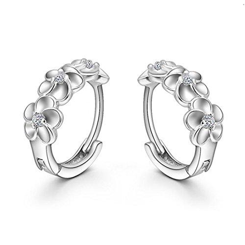 Sannysis Fashion Crystal Rhinestone Earrings