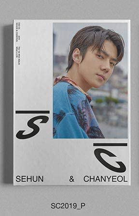 Sm Entertainment Sehun Chanyeol Exo Sc What A Life Sc2019 P Ver 1st Mini Album Cd Photobook Photocard On Pack Poster Folded Poster Double Side Extra Photocards Set Posters Prints