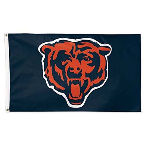 WinCraft NFL Chicago Bears 01803115 Deluxe Flag, 3' x 5' by WinCraft