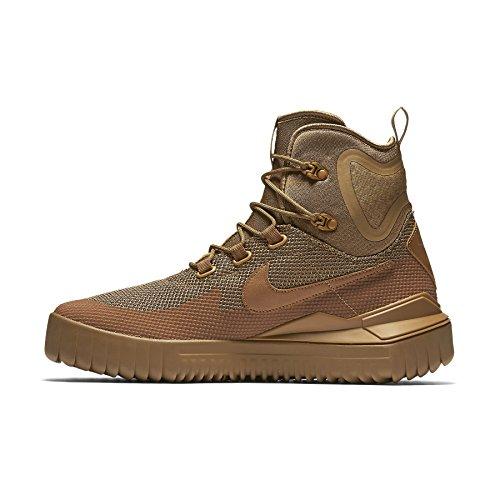 Nike Heren Air Wild Midlaarzen Goud Beige / Goud Beige / Kaki