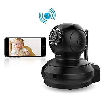 CE-Link IP Cámara WiFi Camaras de Vigilancia Inalámbrico Wireless 1080P HD Zoom P2P IR