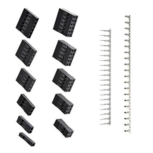 Review QLOUNI 620Pcs 2.54mm Pitch