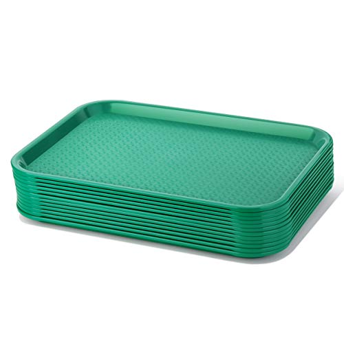 Green Fast Food Tray - 2