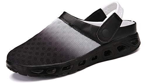 (Yooeen Mens Womens Mesh Sandals Garden Clog Shoes Breathable Summer Indoor Outdoor Slippers Lightweight Walking Beach Sports Sandals)