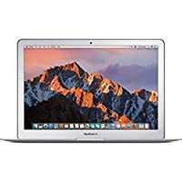 Apple MacBook Air Laptop -(Intel Core i5-1.8Ghz Dual Core, 13-Inch, 128GB SSD, 8GB, English-Arabic Keyboard, macOS Sierra, Silver - Middle East Version), MQD32