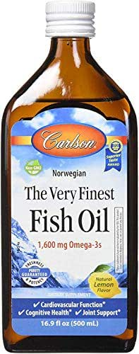 Vitamins & Supplements: Carlson The Very Finest Fish Oil