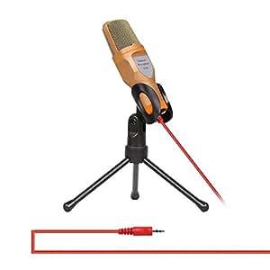 domybest Audio Profesional micrófono de condensador Mic Studio grabación de sonido w/Shock