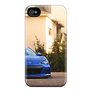 MDCH Case Cover For Iphone 4/4s - Retailer Packaging Subaru Brz Sport Protective Case