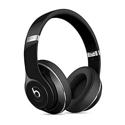 Beats Studio2 Wireless Over-Ear Headphones Gloss Black Noise Reduction by Beats
