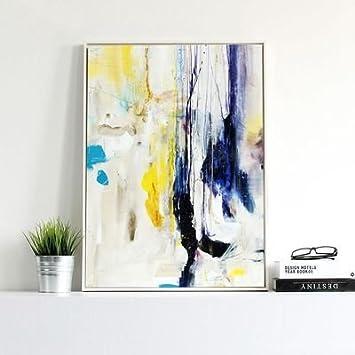 Uberlegen Lieblich Moderne Minimalistische Skandinavischen Stil Kunst Malerei  Abstrakte Malerei Hängen Im Flur Schlafzimmer Parlor Büro Kinderzimmer