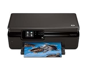 HP Photosmart Impresora multifuncional HP Photosmart 5510 con conexión web - Impresora multifunción (De inyección de tinta, Copiar, Imprimir, Escanear, Copiar, Imprimir, Escanear, 11 ppm, 7.5 ppm, 600 x 600 DPI)